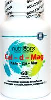 Каль-ди-Маг (Cal-d-Mag), кальций+магний, таблетки 60 шт.