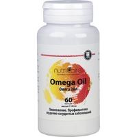 Омега Ойл (Omega Oil), концентрат рыбьего жира, капсулы 60 шт.